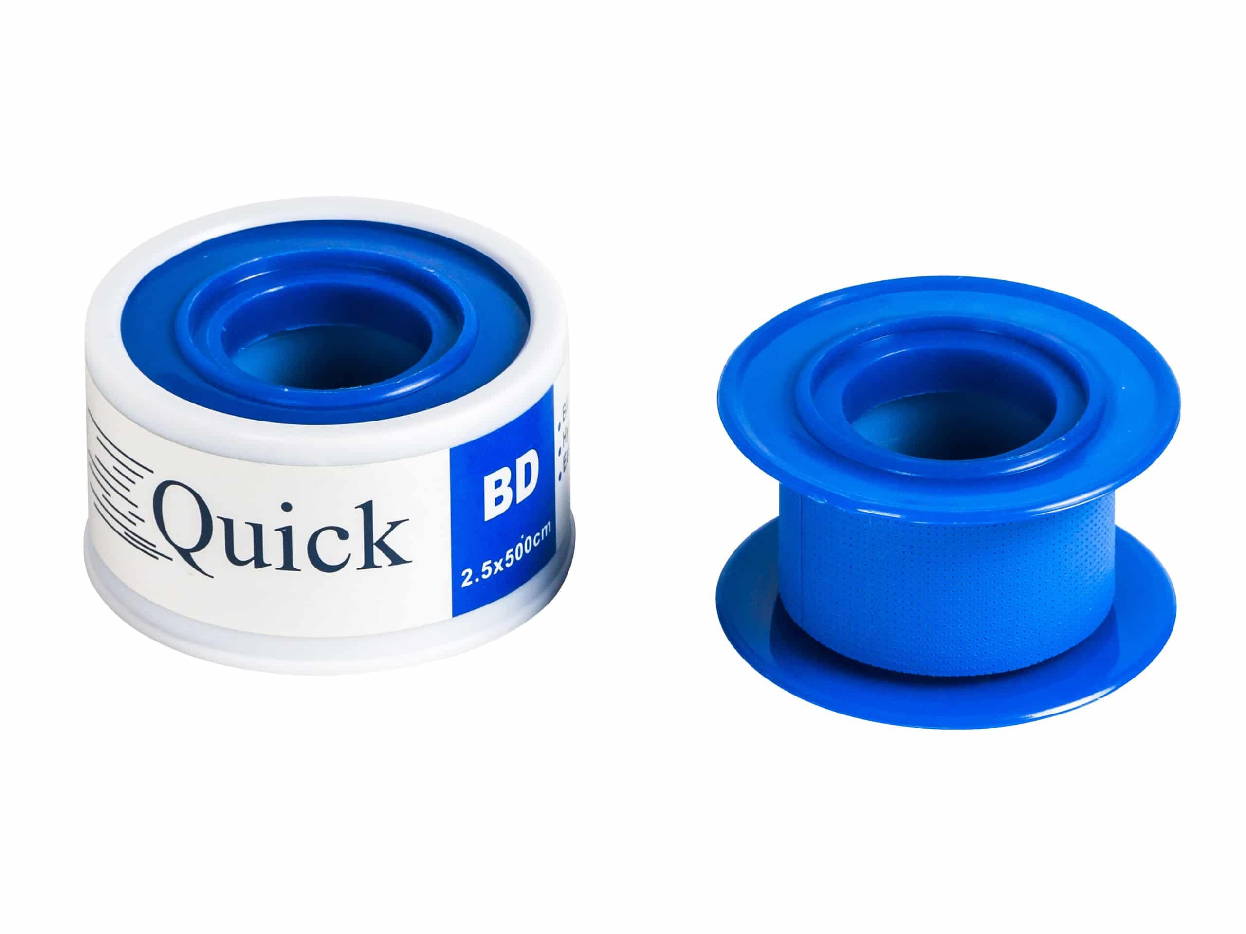 Blauwe tape