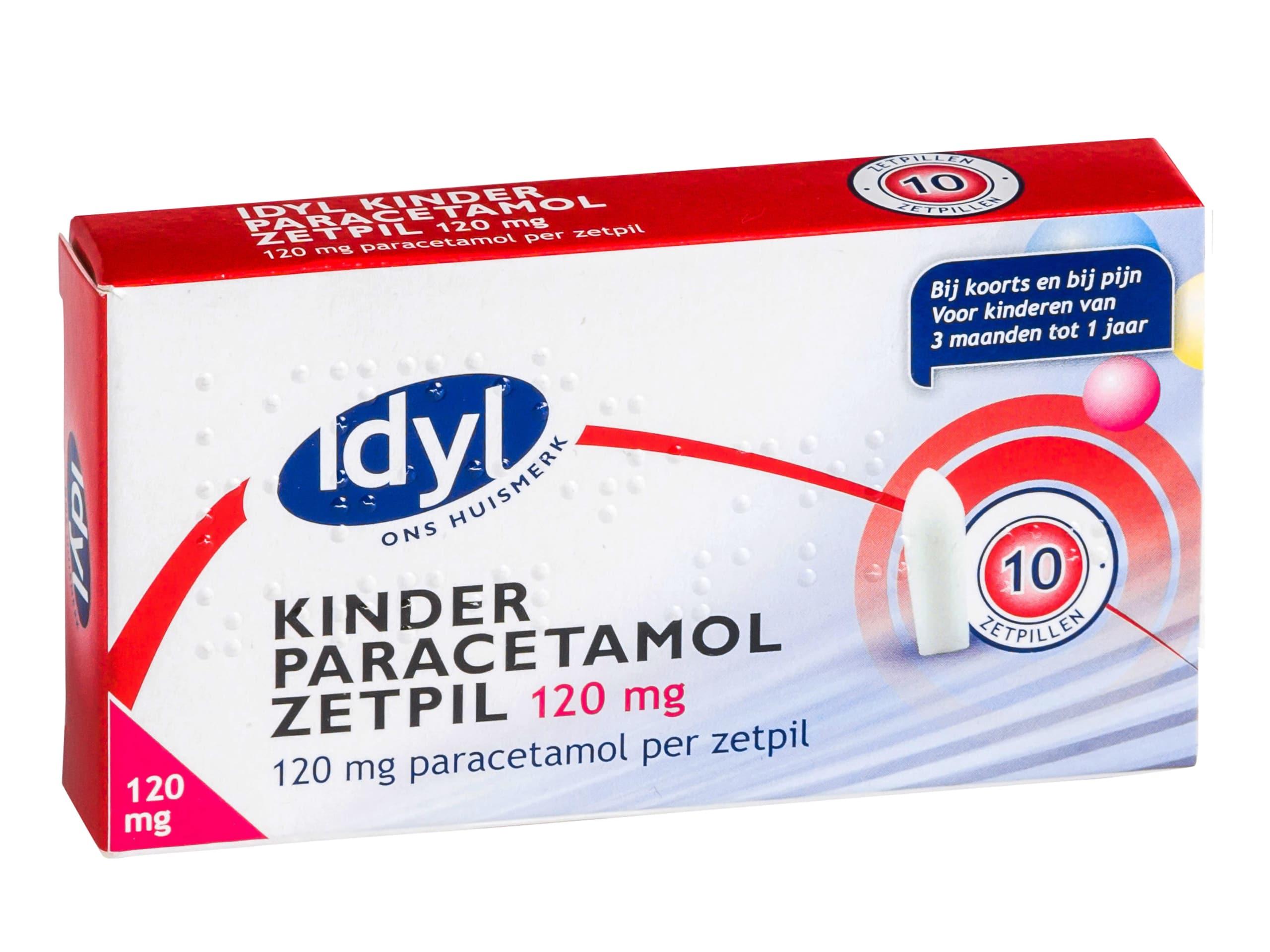 Paracetamol zetpillen voor kinderen