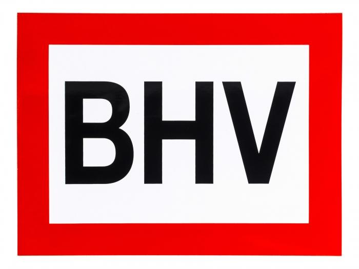 Pictogram Sticker Bhv 200 X 150 Mm Ehbo Koffernl