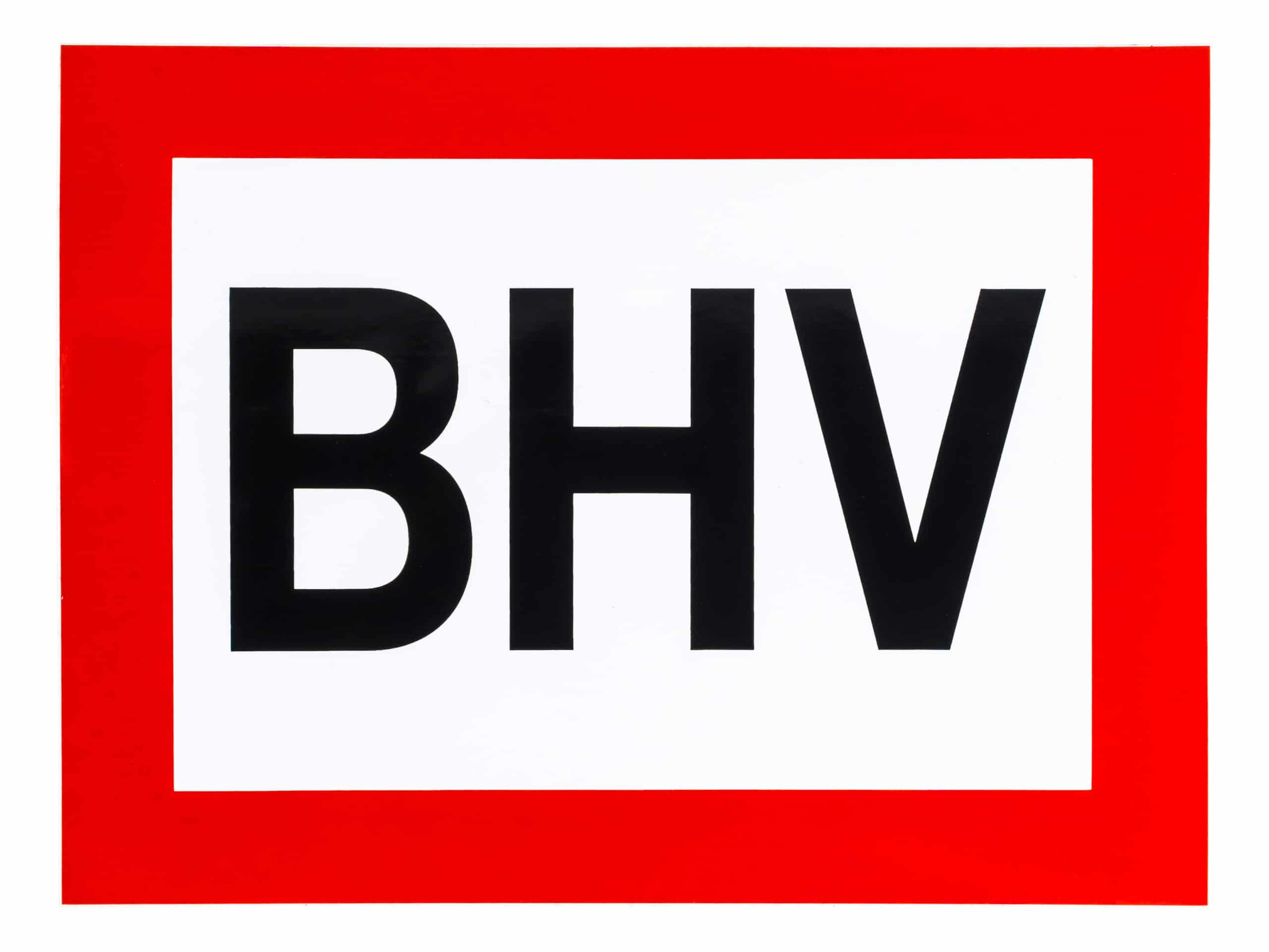 pictogram sticker bhv
