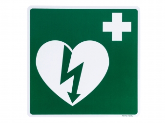 pictogram bord AED