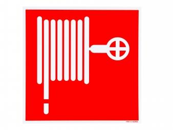 pictogram bord brandslanghaspel