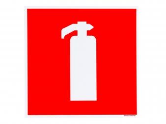 pictogram bord brandblusser