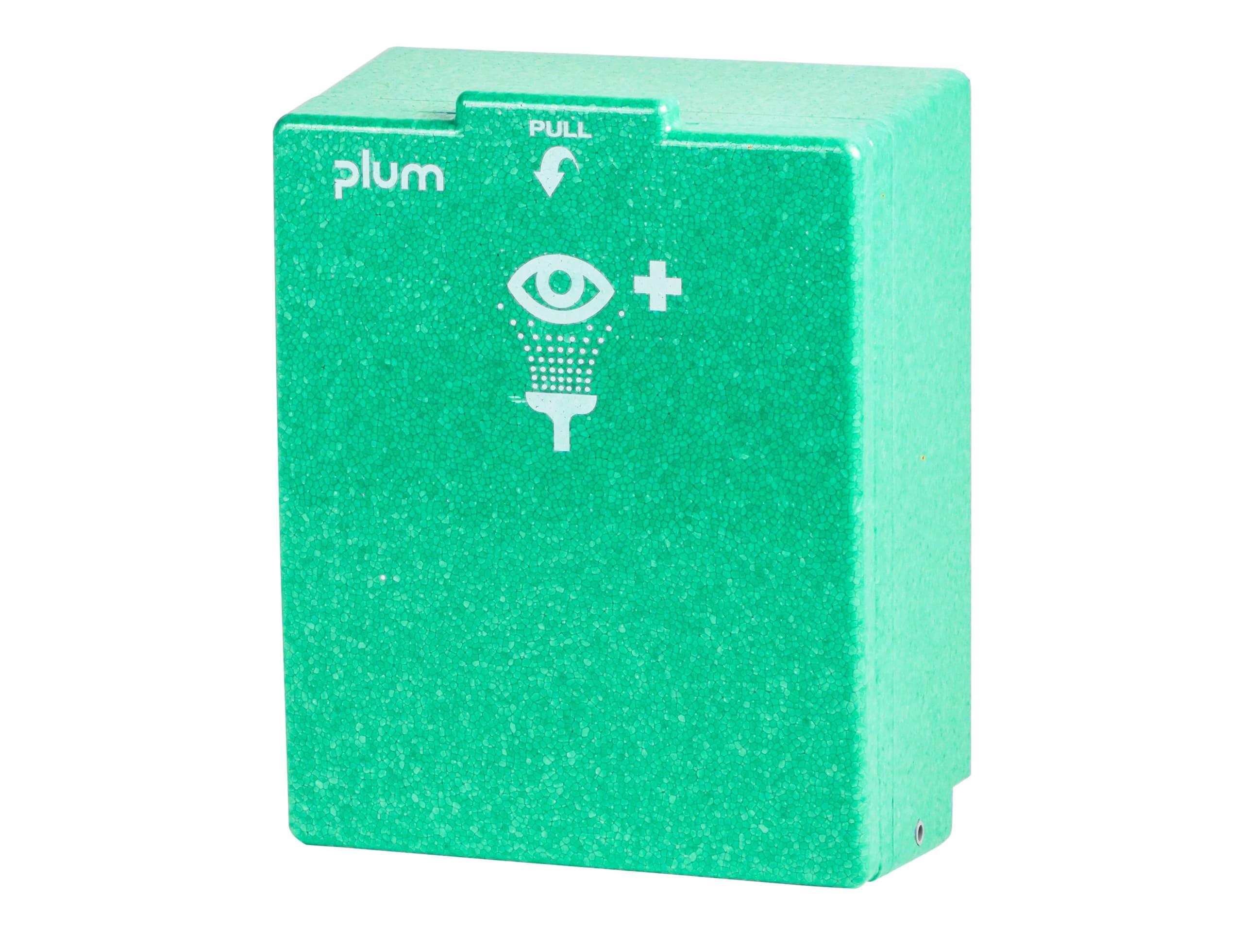 Plum oogspoelstation