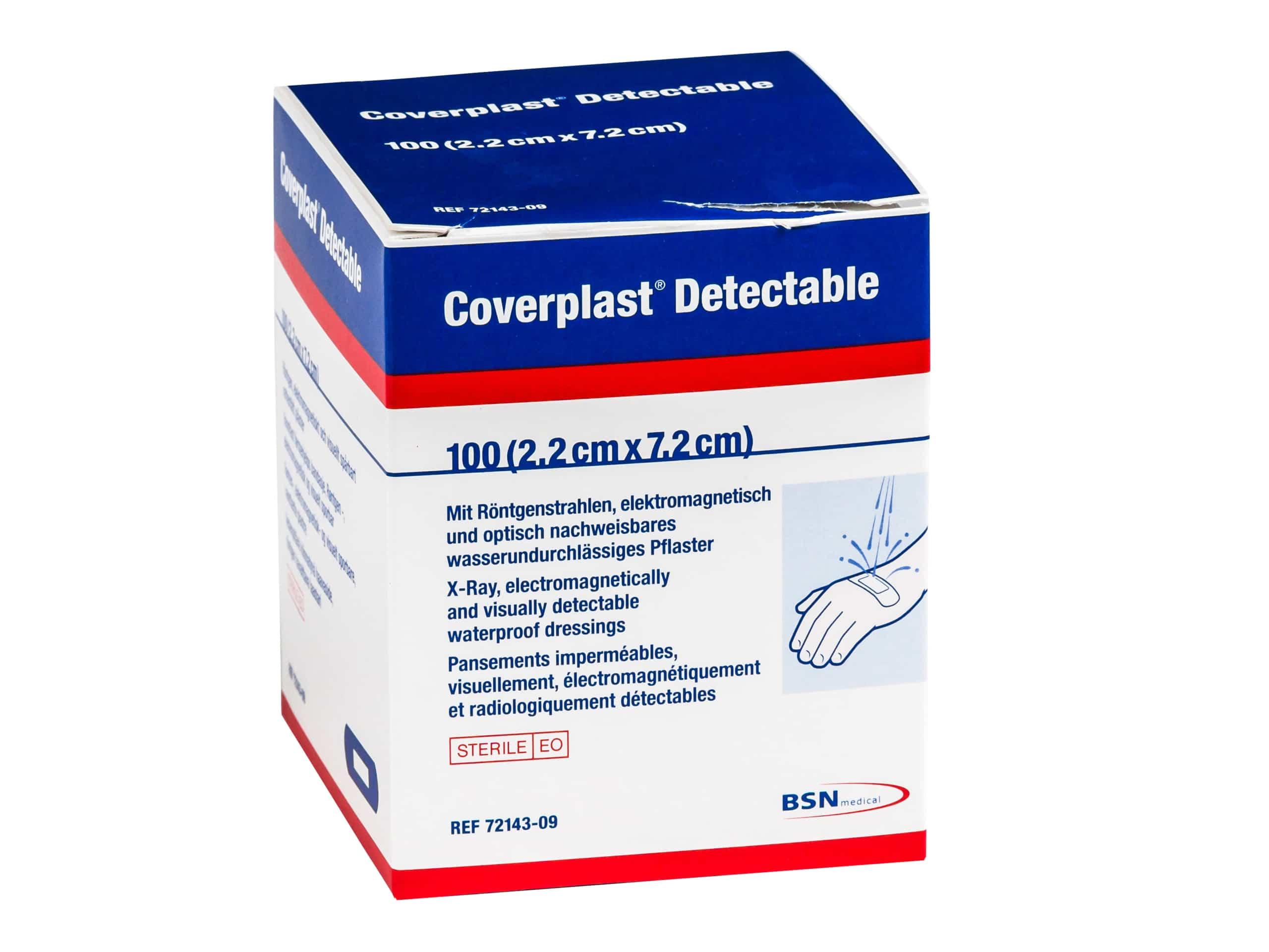 Coverplast detecteerbare pleister