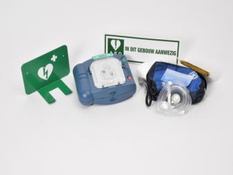 AED - Philips Heartstart HS1 set