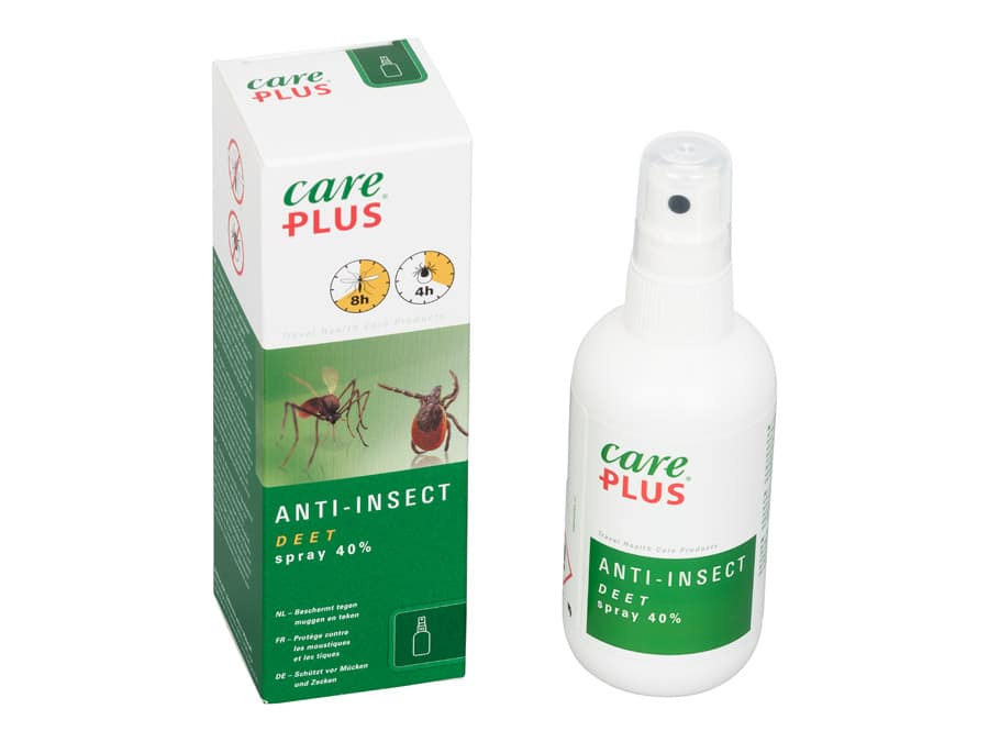 Careplus deet spray 40% 100 ml
