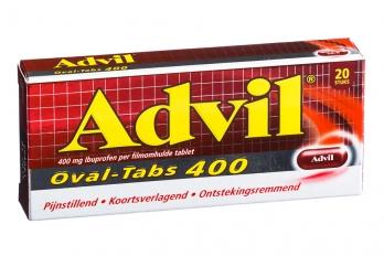 Advil ovaal 400 mg