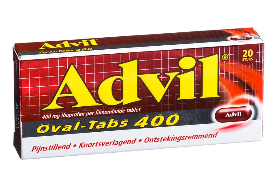 Advil ovaal 400 mg
