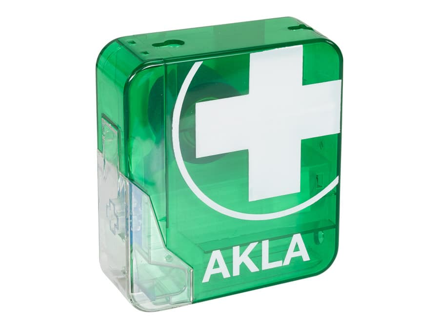 Akla pleisterdispenser detecteerbaar