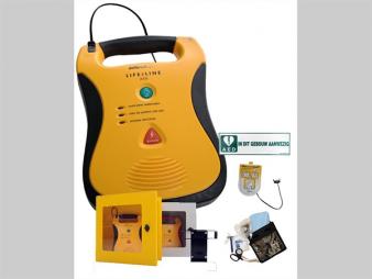 Defibrillator - Defibtech Lifeline complete set