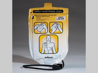 Defibrillator electroden - Defibtech Lifeline