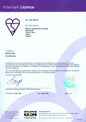 Kitemark Certificering (1/2)