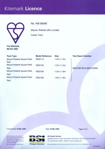 Kitemark Certificering (2/2)