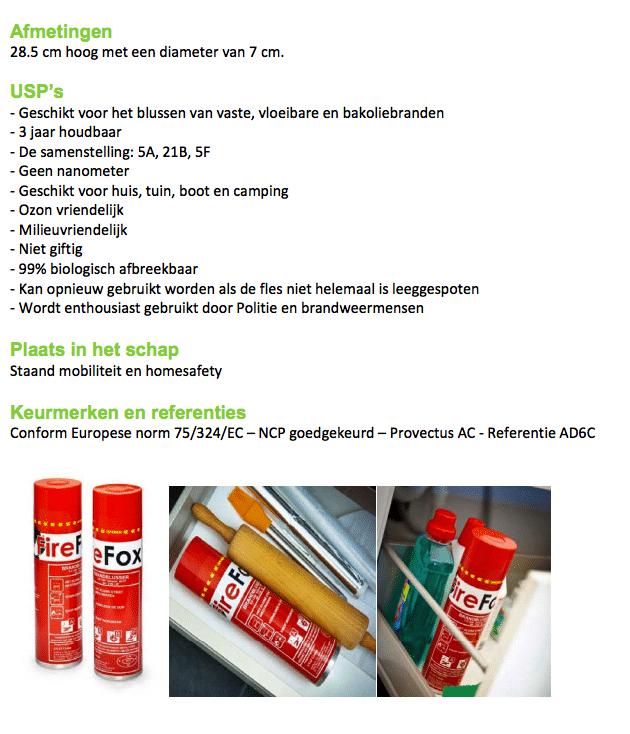 Firefox sprayblusser omschrijving 2