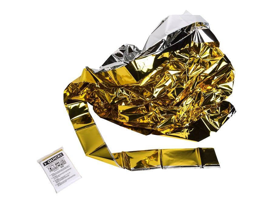 Reddingsdeken goud zilver 1