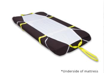 Ski sheet evacuatie zeil