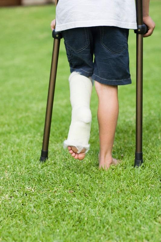 Wat moet je doen bij een gebroken been