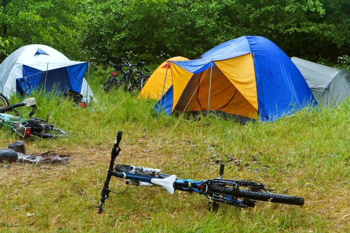 EHBO-koffer tent