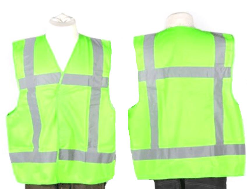 veiligheidshesjes groen